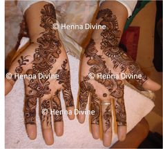 Basic Arabic Henna Design