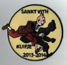Do you know Kuifje or Tintin? He's almost faster than his shadow :-) This patch looks so good. It's a musthave! Upload your own design on ibadge.com.