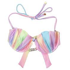 Pastel Rainbow Mermaid Top