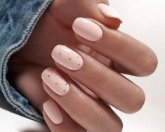 The best new nail polish colors and trends plus gel manicures, ombre nails, and nail art ideas to try. Get tips on how to give yourself a manicure. Short Gel Nails, Basic Nails, Simple Nails, Manicure For Short Nails, Cute Short Nails, Short Nails Art, Fun Nails, Pretty Nails, Nagellack Design