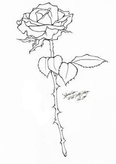 #rose #tattoo #drawing
