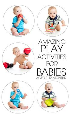 Amazing baby play activities for the first year.