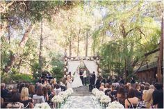 Jason Wahler, from Laguna Beach/The Hills, and Ashley Slack's wedding at Calamigos Ranch. Ashley glows in a lovely gown from Mary Me Bridal.  SUN & SPARROW PHOTOGRAPHY