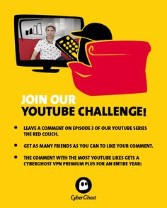 Share your feedback on our show on Facebook, Twitter or on YouTube! Like You, Couch, Facebook, Twitter, Youtube, Red, Settee, Sofas, Sofa