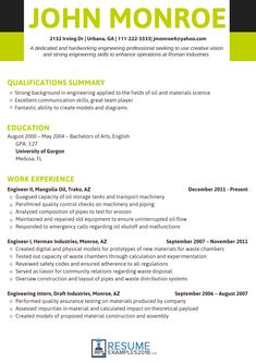 Modem System Test Engineer Sample Resume How To Create Effective Resume This Board Is About Resume Formats .