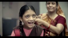 Hand on heart, will you be okay if your child is illiterate? - nice perspective and execution