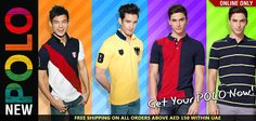 UAE Online Shopping Newsflash!  New Polo  http://giordano-me.com/User/ProductList.aspx?gust=0=76  Free shipping on all orders above AED 150 within UAE  Get your polo NOW! :)