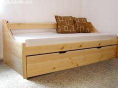 Postel s přistýlkou, postel z masivu, MASIV - obrázek číslo 1 Nova