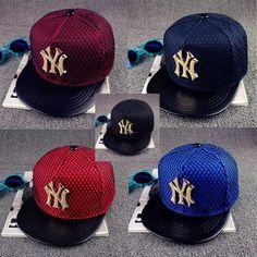 New Adjustable Metal Letters Baseball Cap Men And Women Street Fashion  Novelty Hip Hop Caps Bones Gorras Snapback Hats 1a2266d18dd