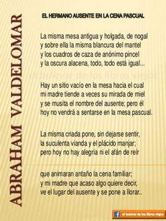 Abraham Valdelomar, El hermano ausente en la cena pascual. Literatura Peruana