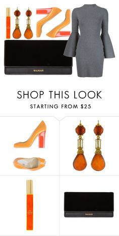 """Untitled #116"" by quodsumeris on Polyvore featuring Pollini, Kate Spade, Balmain and Milly"
