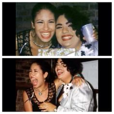 Selena and Suzette Selena Quintanilla Perez, Suzette Quintanilla, Selena And Chris, Selena Selena, Selena Mexican, Sisters Goals, Celebs, Celebrities, Vintage Beauty