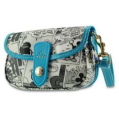 And my 4th, but most likely not my last Disney Dooney. Just a simple wristlet. I really liked the color and design on this one.
