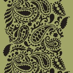Cutting Edge Stencils - Paisley Craft Stencil