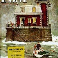 Christmas at the Lighthouse  Mead Schaeffer  December 28, 1946