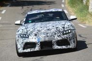 2017 Toyota Supra seen with production bodywork and lights Latest shots show Supra's look both inside and out; it'll share its underpinnings and gearbox with the upcoming BMW Z4  The newToyota Suprahas been spied testing with production-spec bodywork and lights in public ahead of its launch in 2018.  The headlights feature a trio of projectors within the clusters. They sit above a central grille in the front bumper that has a hatched design. The tail-lights are slim LED units that extendto…