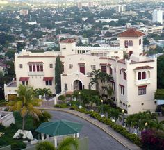 "Pictures of Ponce, Puerto Rico = The Serralles Castle, in ""El VIJIA"" now turn into a history museum."