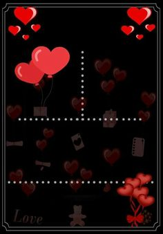 Amor vermelho Frame Background, Silhouette Projects, Christening, Birthday Invitations, Photo Booth, Iphone Wallpaper, Free Printables, Decoupage, Cool Photos