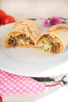 Low Carb Cheeseburger Crêpe – Low Carb Köstlichkeiten