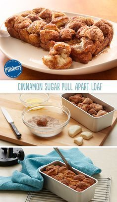 Cinnamon Sugar Pull Apart Loaf has the makings of a beautiful morning ...