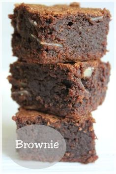 THE brownie, the best of all! - The Cuisine of Malou - While preparing my articles for my special chocolate file (here and here), I realized that I still - Cookie Dough Cake, Chocolate Chip Cookie Dough, Chocolate Brownies, Chocolate Desserts, Boxed Brownies, Easy Brownies, Chewy Brownies, Healthy Brownies, Brownie Recipes
