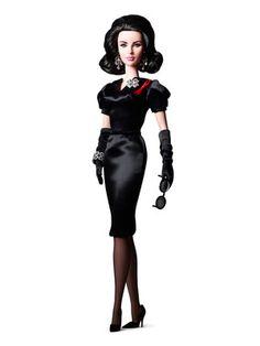 Barbie Collector Elizabeth Taylor Violet Eyes Barbie® Doll