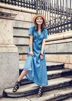 Sooyoung - InStyle Korea x 'Bimba Y Lola', 2017 March Issue Sooyoung Snsd, Style Outfits, Instyle Magazine, Western Outfits, Asian Style, Girls Generation, Chic, Girl Photos, Kpop Girls