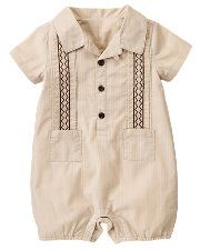baby boy...need to find black and he and his dad can wear their guyaveras together!