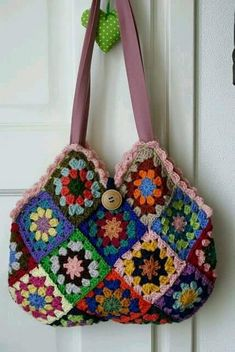 Crochet Hand Bag Pattern Project