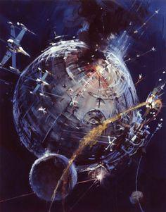 Star Wars (1977) Art by John Berkey
