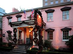 The Best American Cities for Foodies : Condé Nast Traveler 15. SAVANNAH, GA The Olde Pink House