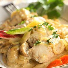 Filets de sole bistrot Potato Salad, Potatoes, Fish, Meat, Chicken, Ethnic Recipes, Yum Yum, Foodies, Steak