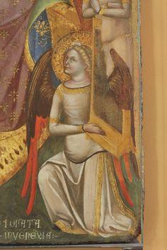 Lorenzo Veneziano (1336-1379), Sposalizio di Santa Caterina, dettaglio, Venezia,  Gallerie dell'Accademia -