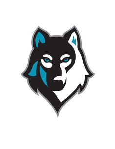 wolf logo vector art illustration animals pinterest vector art rh pinterest com Wolf Head Logo Mythological Monsters Logos