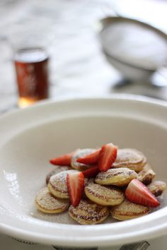 Poffertjes (Dutch mini pancakes)