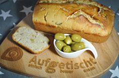 Olivenbrot - Brotbacken leicht gemacht Snack Recipes, Cooking Recipes, Snacks, Bread Rolls, Bbq, Food, Tupperware Recipes, Simple, Bread Baking