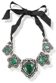 Lanvin Lanvin Necklace in Green - Lyst