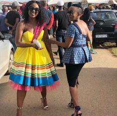 Stylish South Africa Shweshwe Dresses Fshion In 2020 Pedi Traditional Attire, Sepedi Traditional Dresses, African Traditional Wear, African Traditional Wedding Dress, Latest African Fashion Dresses, African Print Dresses, African Wear, African Dress, African Prints