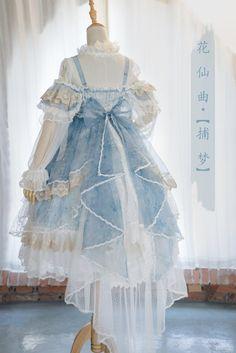 Bramble Rose -The Fairy Princess- Vintage Classic Lolita Jumper Dress,Lolita Dresses, Style Grunge, Grunge Look, 90s Grunge, Soft Grunge, Anime Outfits, Mode Outfits, Grunge Outfits, Fashion Outfits, Kawaii Fashion
