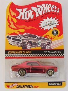HOT WHEELS - 16th ANNUAL CONVENTION -  70 CHEVELLE SS - LIMITED EDT. OVP / MIB