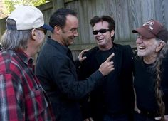 Dave and Friends....Neil, John Cougar and Willie!!