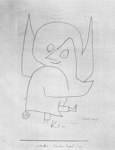 """Paul Klee: """"Angel Bell"""""""