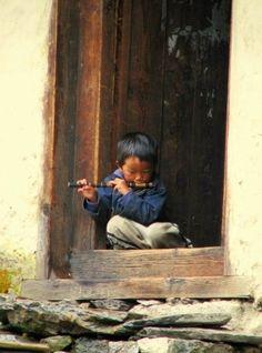 Child. India.