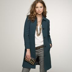 j crew lady day coat - Google Search