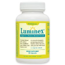 Luminex® St. John's Wort Supplement Maintain a balanced mood and better cope with the ups and downs of life gently and naturally—without resorting to chemicals or #hormones. Utilizes a patented natural formula. Preferred Price $17.94  #Melaleuca #vitamins