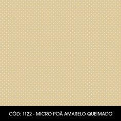 Cód. 1122 - Micro Poá Amarelo Queimado