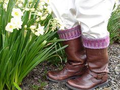 Ravelry: Corrugated Rib Boot Cuffs pattern by Sarah Parker in Crystal Palace Yarns Sausalito