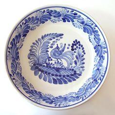Emilia Ceramics Blue and White Pajaro Bowl