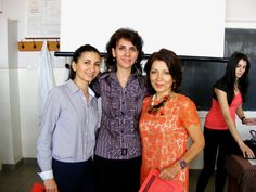with mom (right) and one of our best professors ..still learning..still getting certificates
