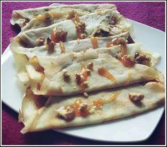 Crepes de harina de tapioca. Gluten free